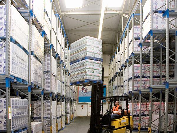 BACO Logistic - Duesseldorf - Kontraktlogistik - Lager - Transport - Service -Lagerhalle Stapler Einlagerung