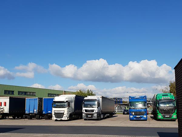 BACO Logistic - Duesseldorf - Kontraktlogistik - Lager - Transport - Service - Lkw Fuhrpark